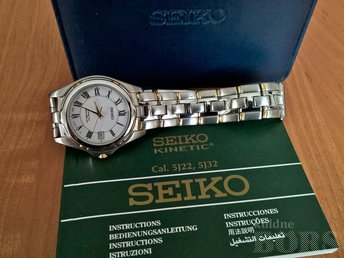 SEIKO KINETIC AUTO RELAY 5J22-OB78