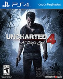 PLAYSTATION 4 PS4 MÄNG UNCHARTED 4