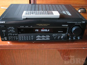 SONY STR-DE515 FM STEREO / FM-AM RECEIVER (1997)