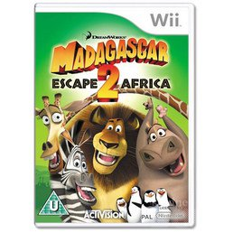 MADAGASCAR ESCAPE 2 AFRICA WII