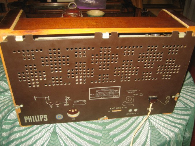LAMPRAADIO PHILIPS TYPE 856 A-19