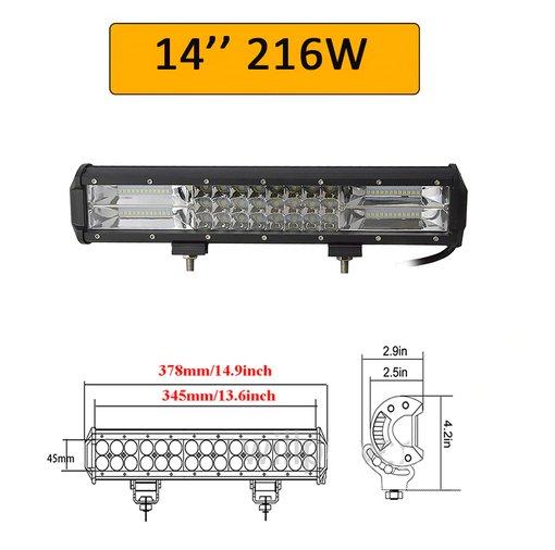 1091309e66b 216W 7D LED BAR LISA-/KAUG-/TÖÖTULI, müük, kuulutus 82483068 - Kuldne Börs