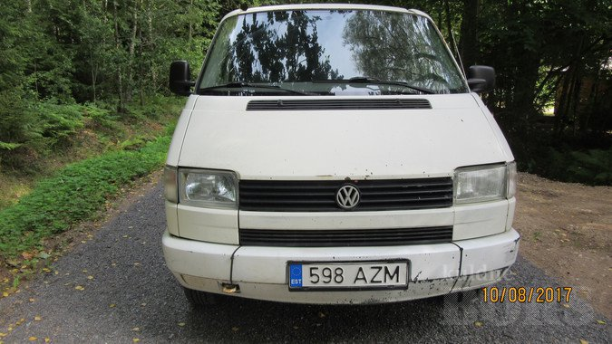 VW TRANSPORTER 2.4 57 kW