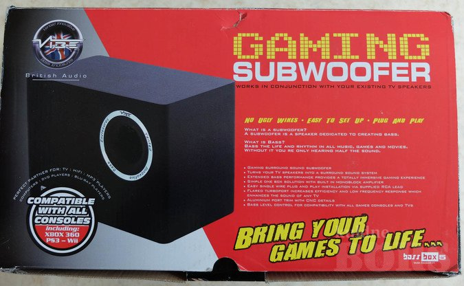 SUBWOOFER KÕLAR BASS BOX 5 20-80W